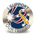 I Support Our Troops Badge